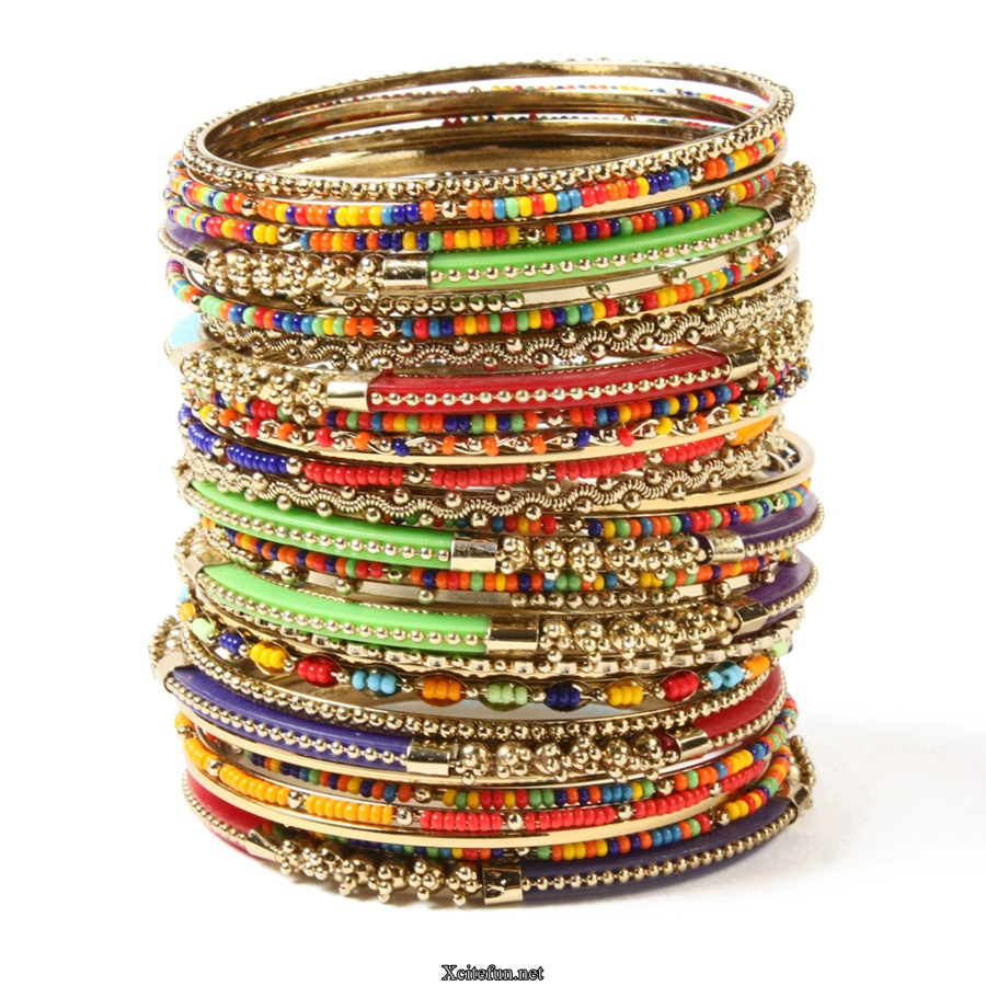 Colorful Fancy Bangles For Girls - XciteFun.net