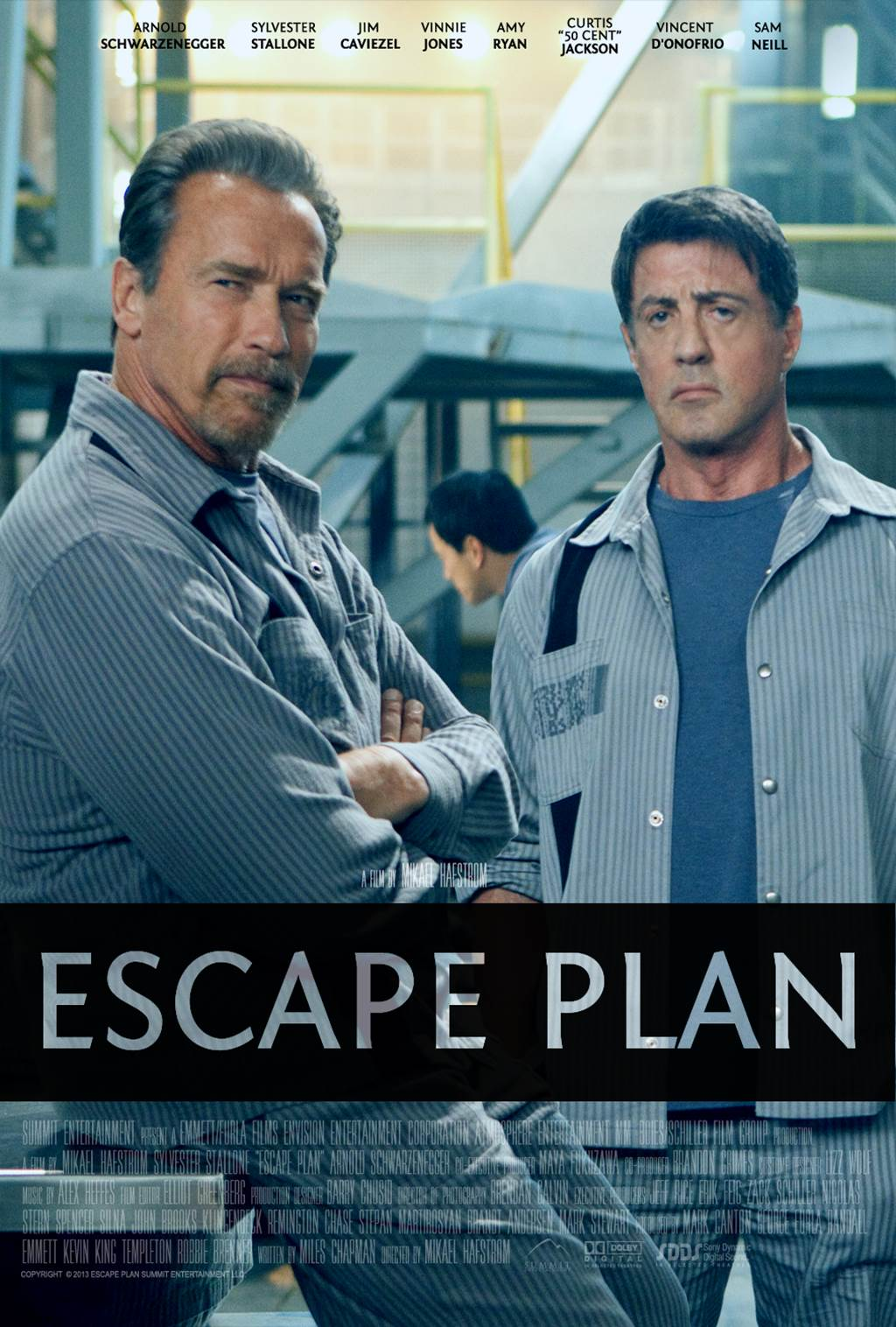 escape plan 2013 movie posters xcitefunnet