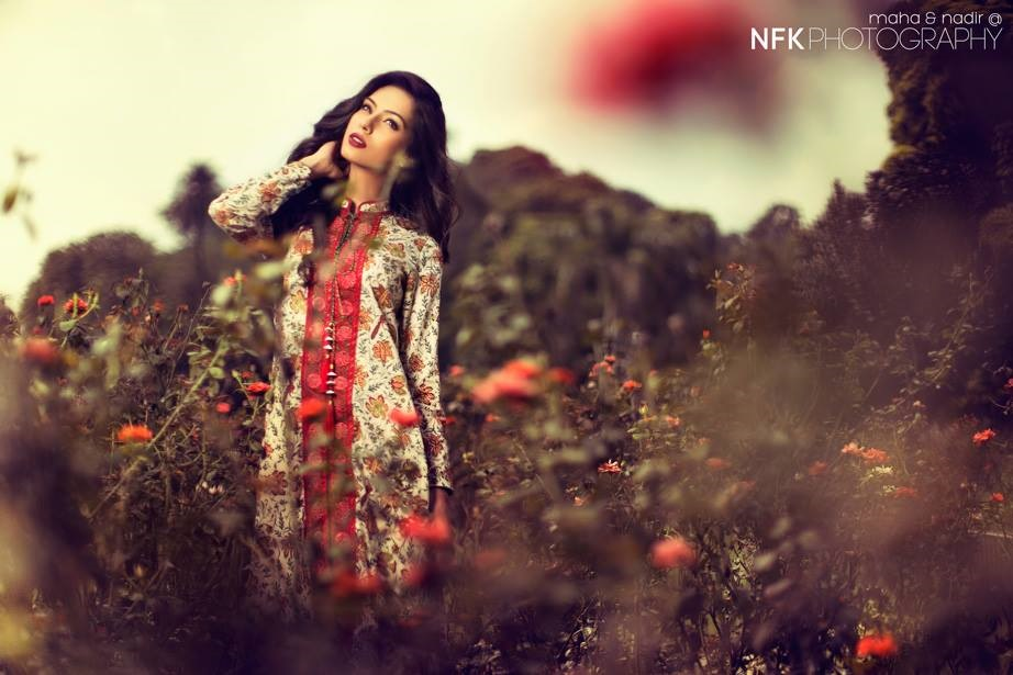Nooray Bhatti Shoot For Kayseria Brand