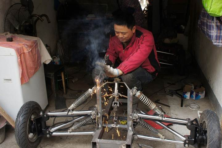 Junk Racing Car of China