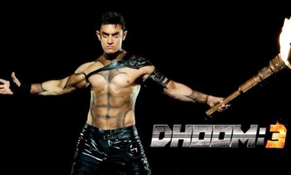 Aamir khan body in dhoom 3