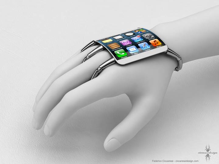 Apple Iphone 6 Curved Screen - Proposed Designs
