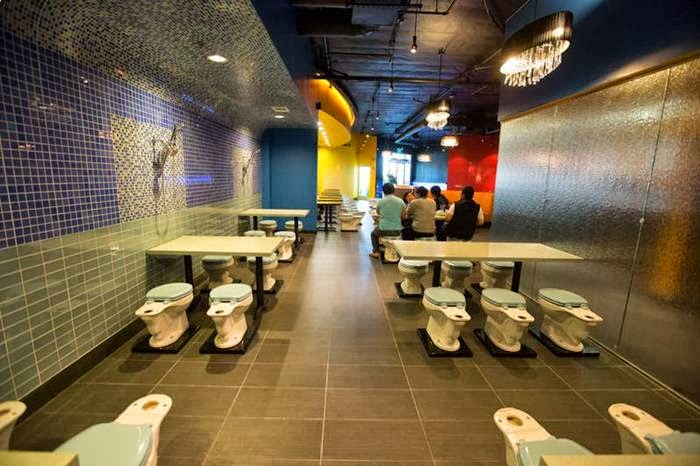 Bathroom Restaurant of America