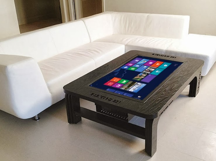 Smart table with touchscreen hi tech table - Table basse high tech ...