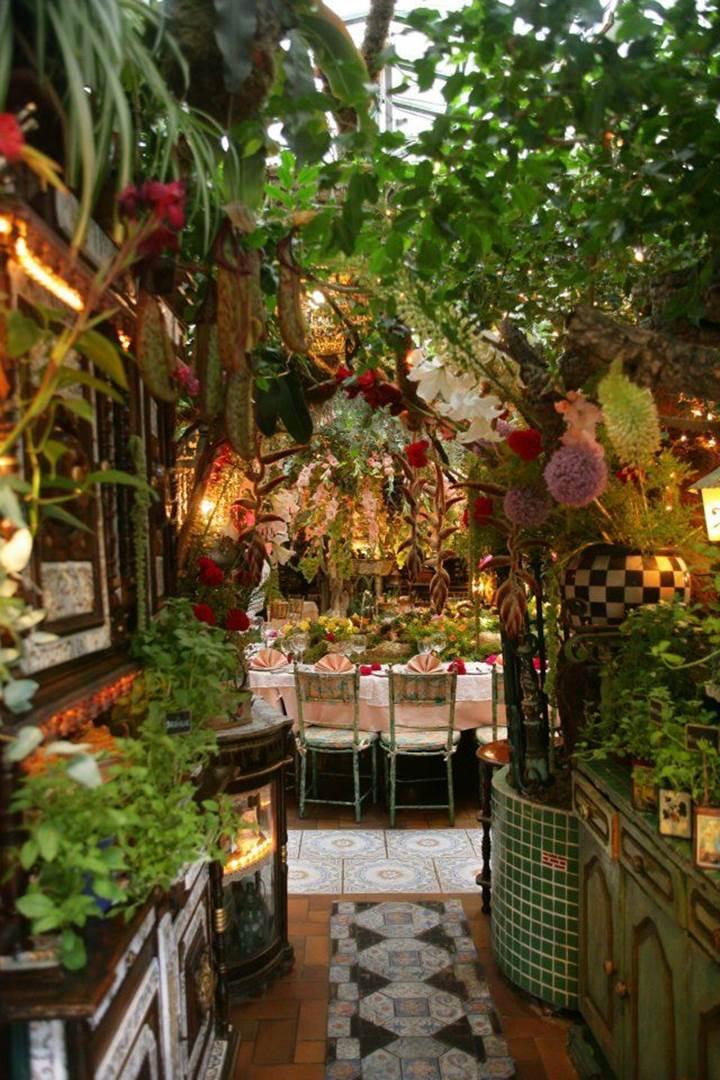 Romantic Flower Restaurant  Mas Provencal