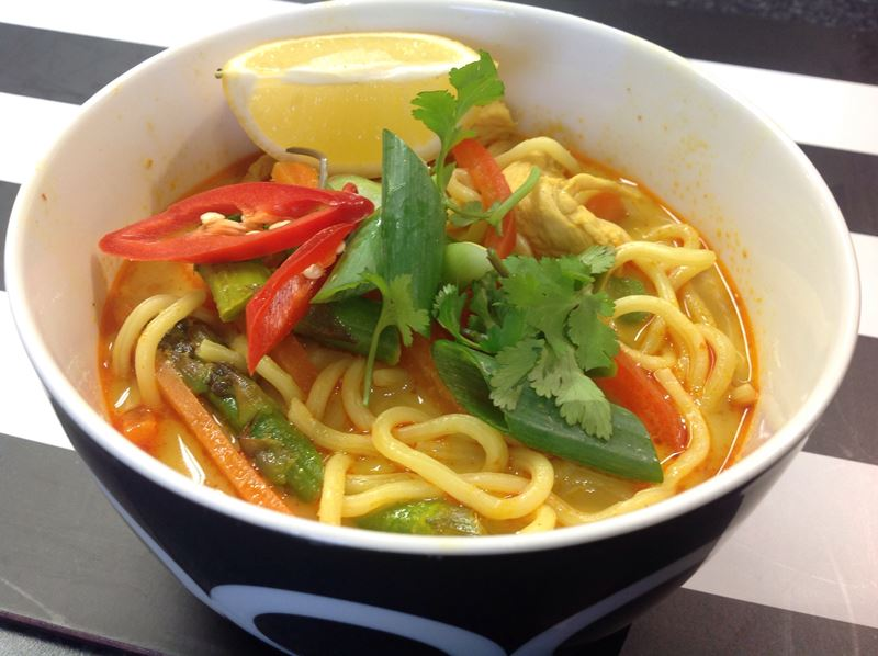 Chicken Laksa Recipe - XciteFun.net