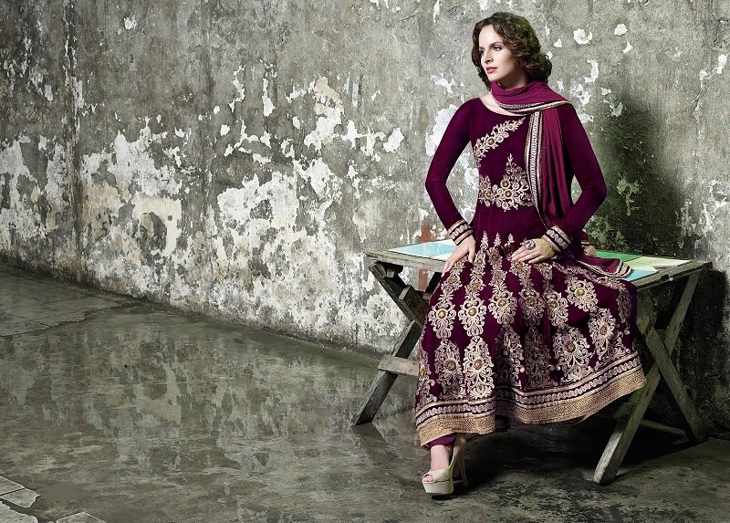 Rich Velvet Winter Collection For Ladies