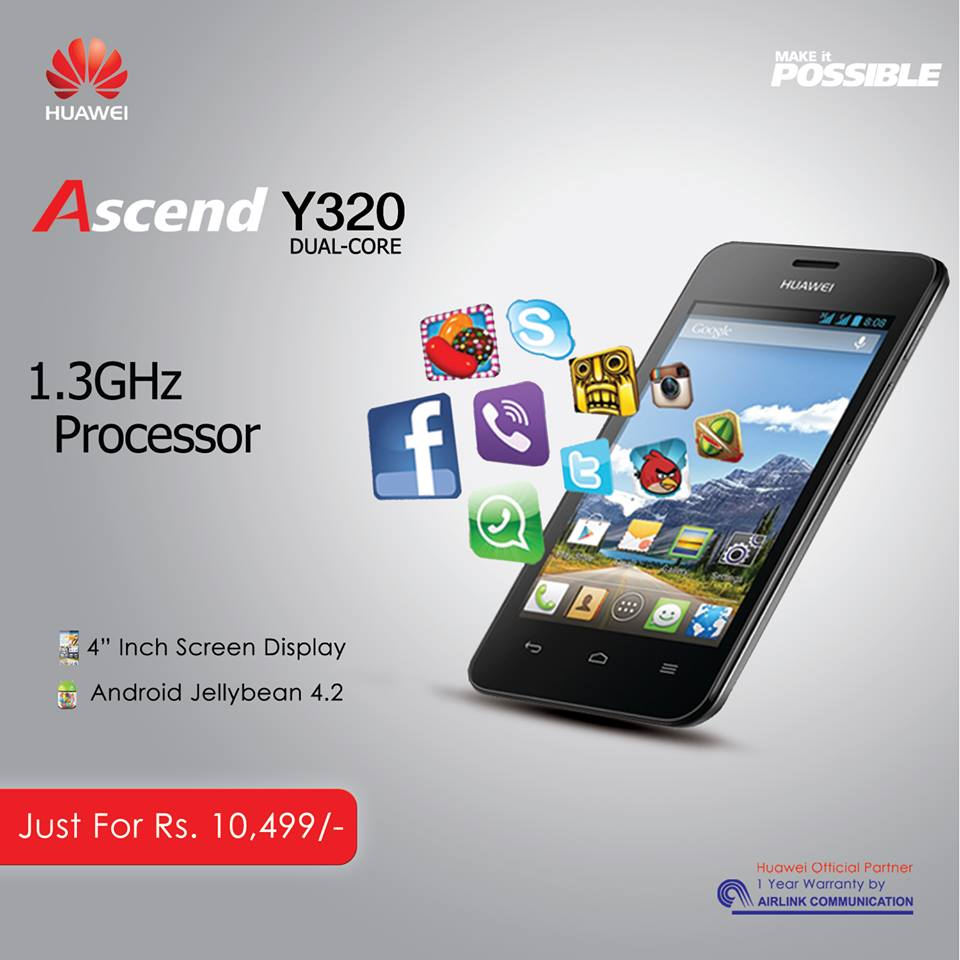 Huawei Ascend Y320 Smartphone Review - XciteFun.net