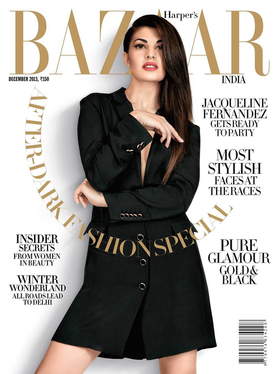 Jacqueline Harpers Bazaar Magazine  Party Shoot