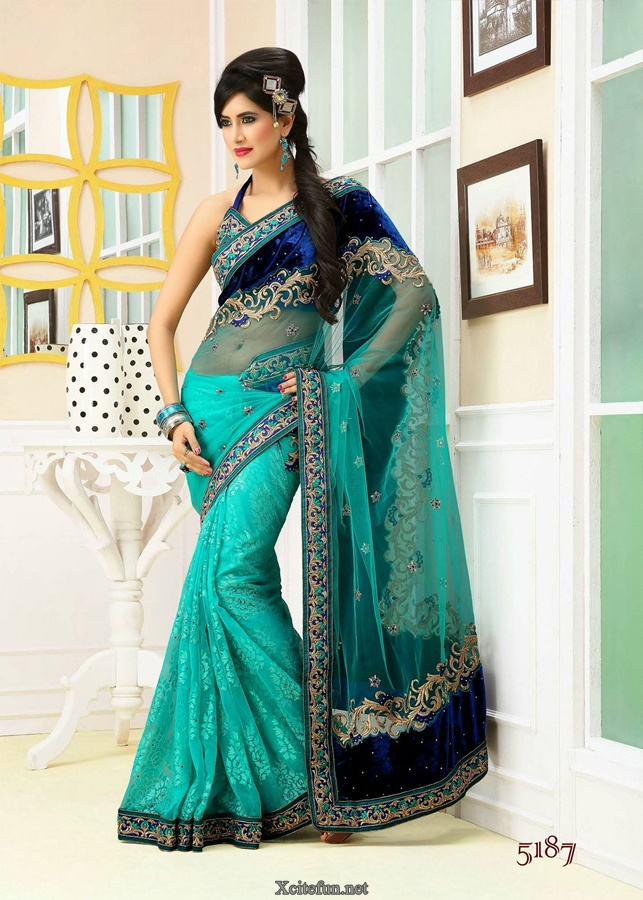 Lehenga Saree Collection Avalon Neeta Lulla Silver