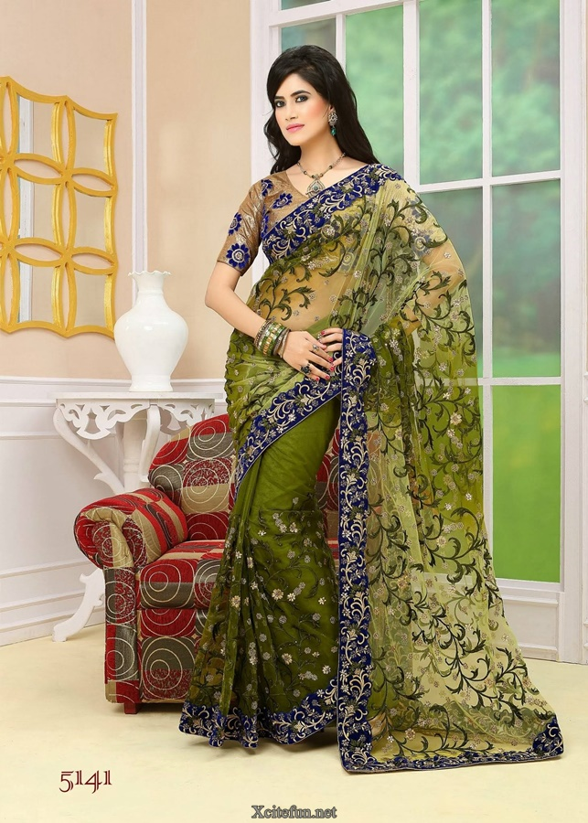 Lehenga Saree Collection Avalon Neeta Lulla Silver thumb