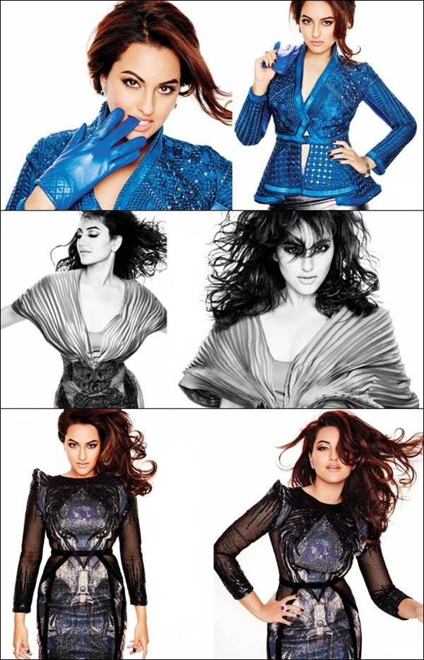 Sonakshi Sinha LOfficiel Cover