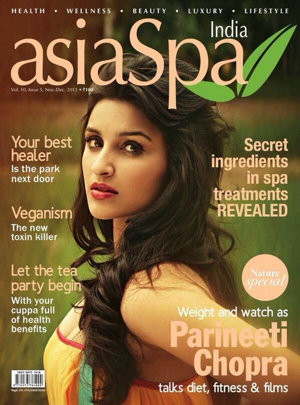 Parineeti Chopra asiaSpa Cover