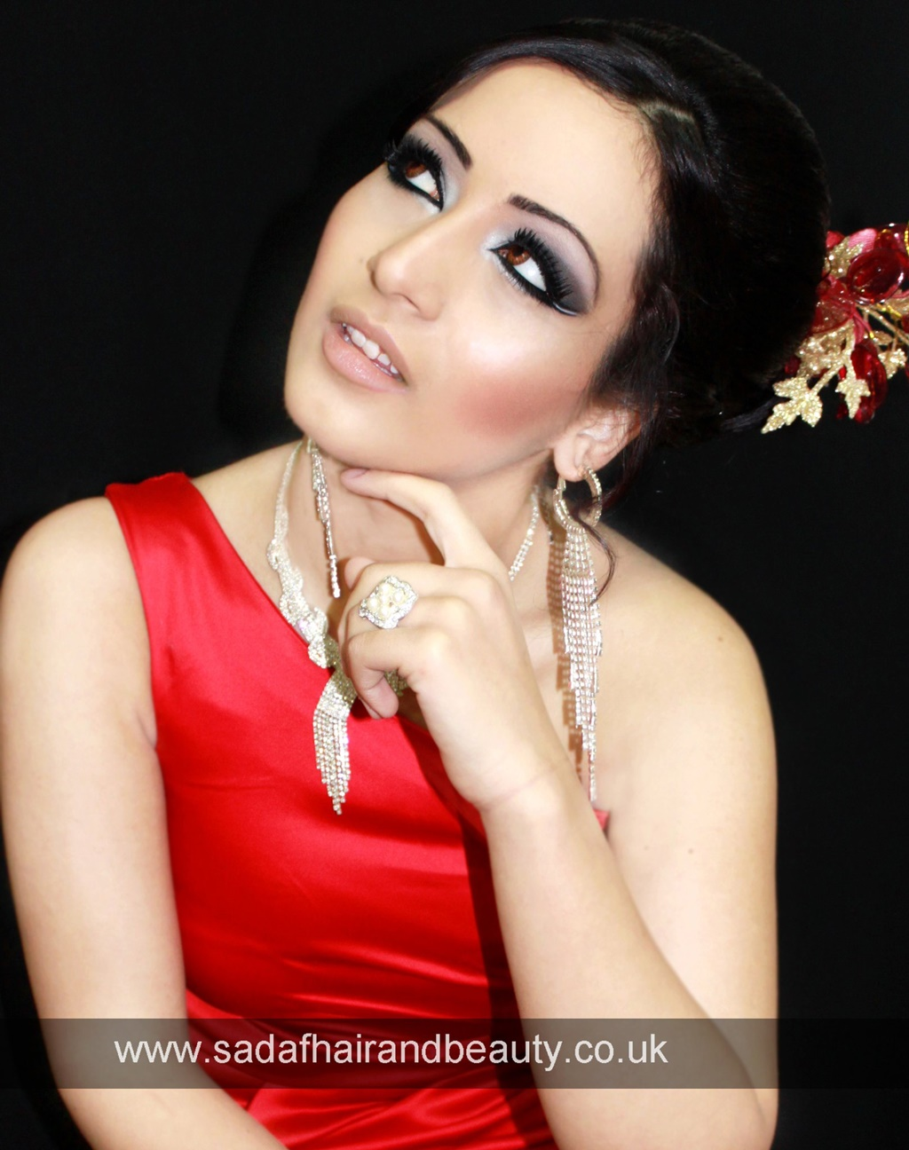 Arabic Smokey Makeup For Party Wear - 341652,xcitefun-arabic-smokey-makeup-for-party-wear-1