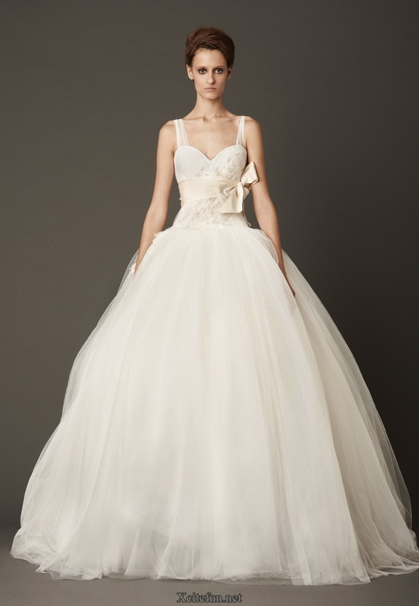 White Bridal Wedding Day Prom Dress Collection