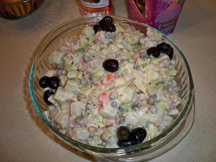 Russian Salad Easy Recipe