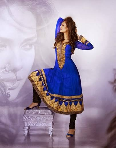 Esha Gupta Designer Collection  Salwar Kameez