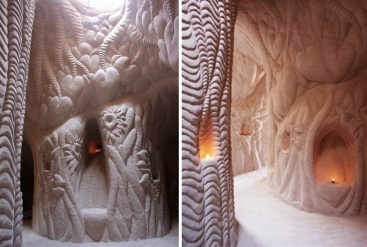 Hand Carved Cave of Ra Paulette