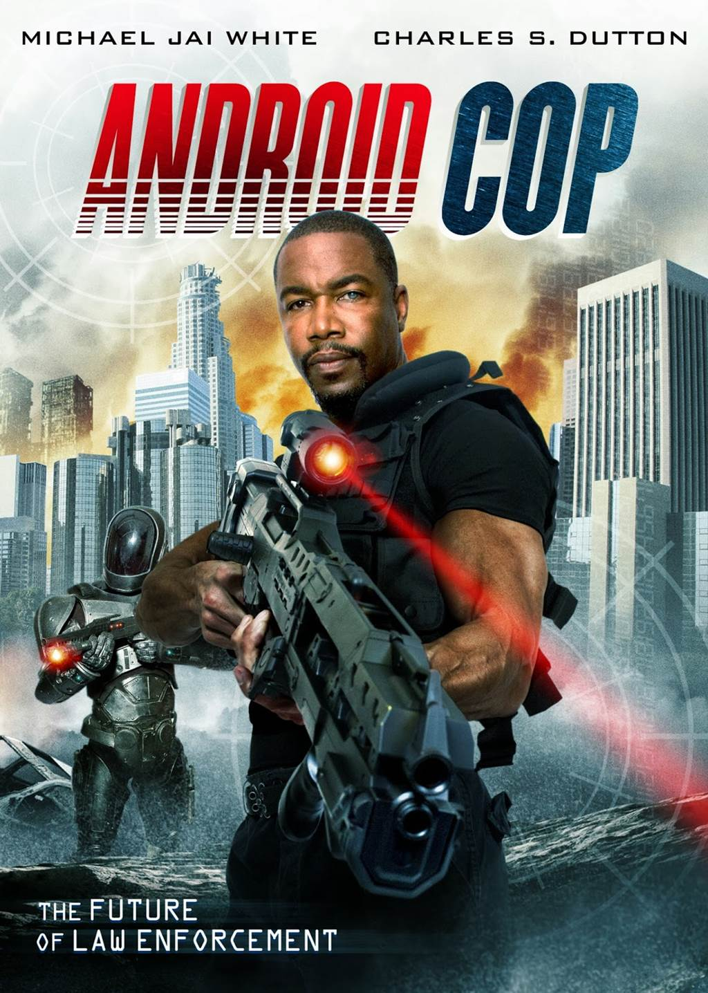 Michael Jai White As Android Cop - XciteFun.net