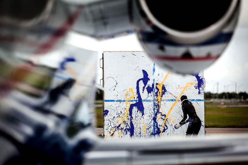 High Speed Jet Art