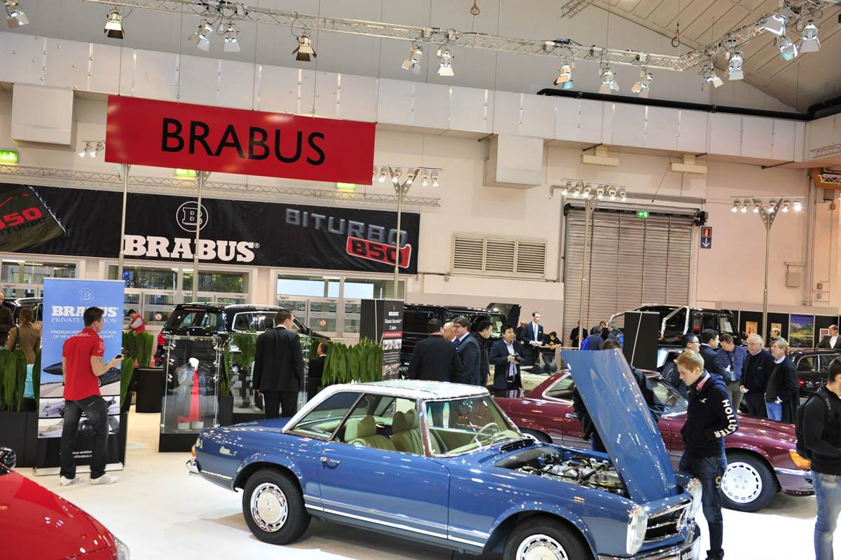 Brabus Essen Motor Show 2013  Photo Gallery