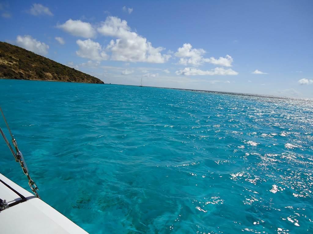 Buck Island In The British Virgin Islands