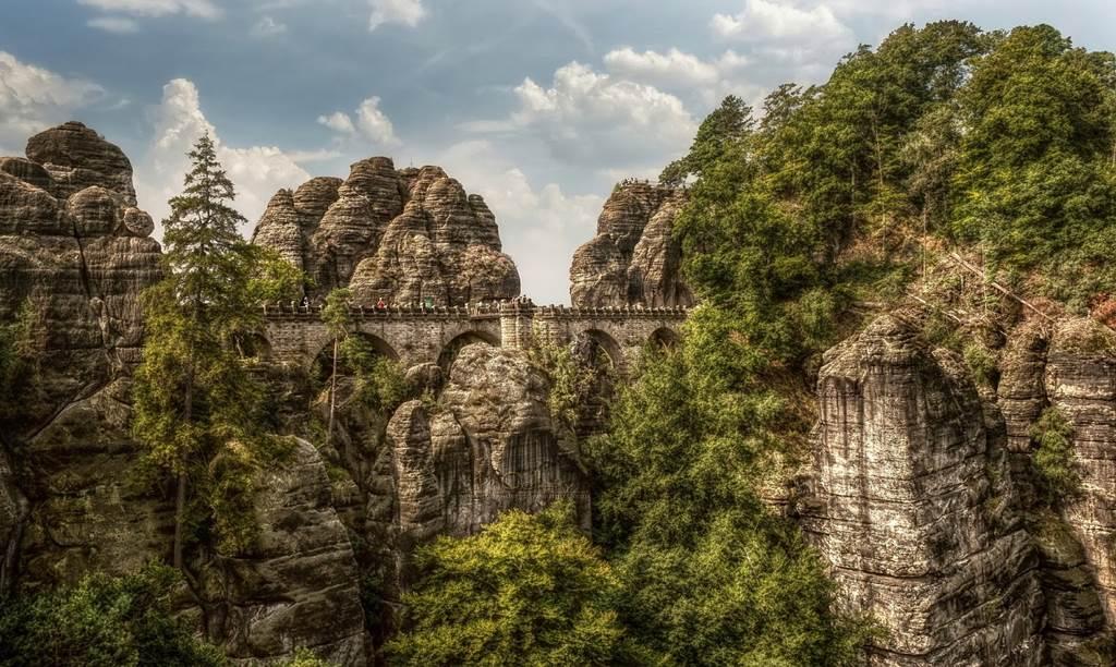 Bastei Bridge Germany Images N Detail Xcitefun Net