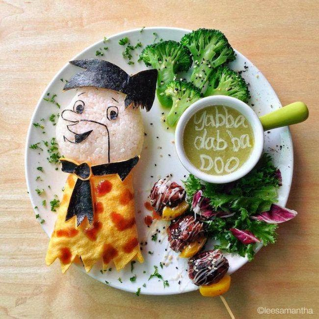 Delicious drawings of food for Creation cuisine