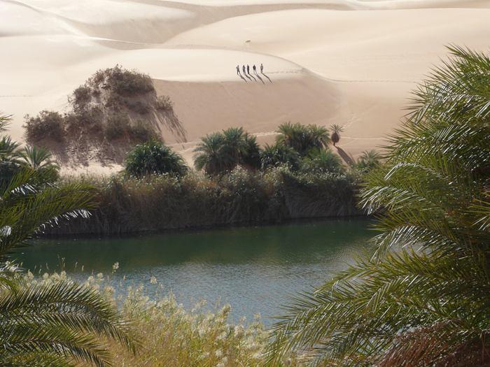 Ubari Desert Lakes Libya Xcitefun Net