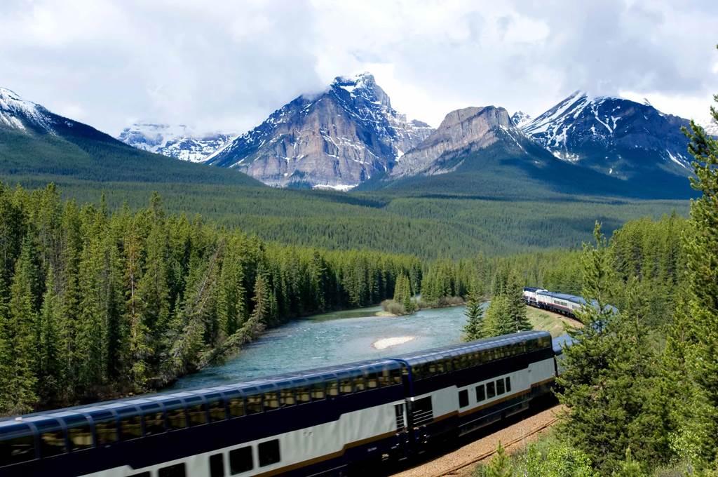 Train Travel Through Canada Alone