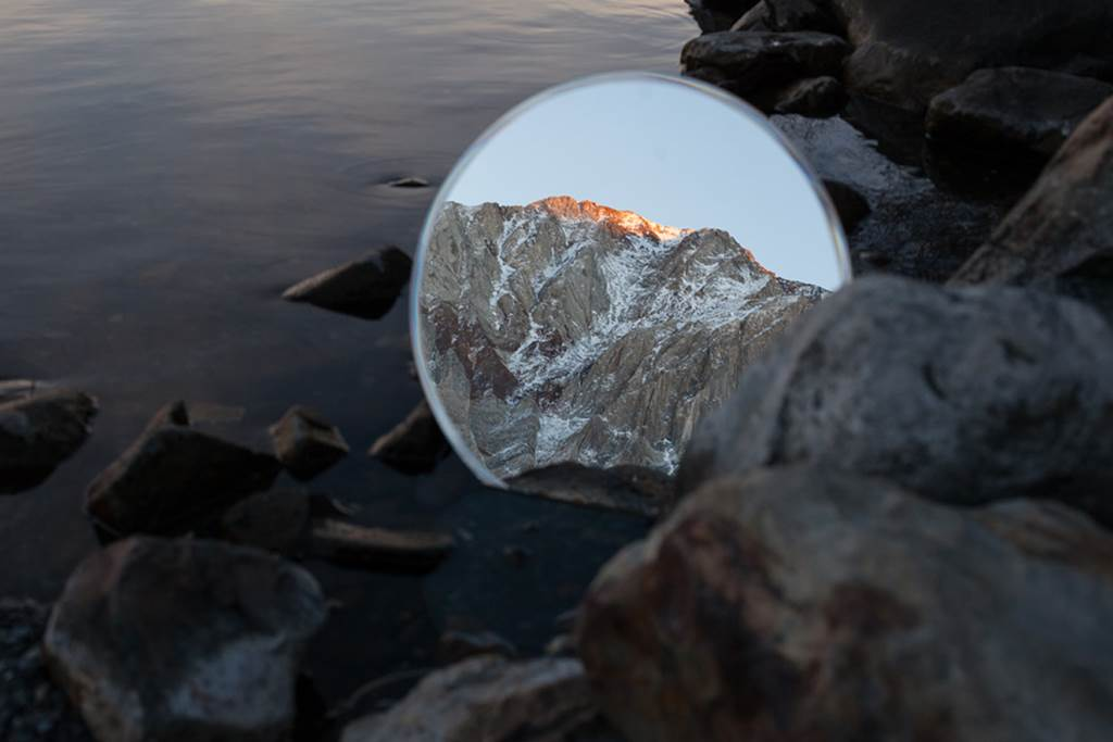 Outstanding landscape mirror reflection for Reflection miroir