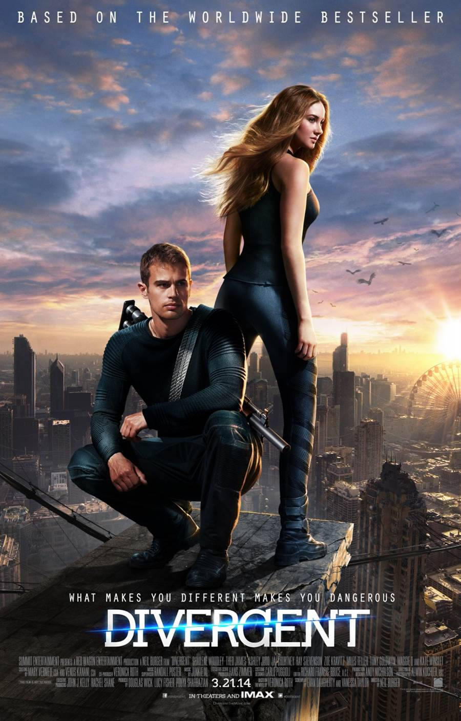 Divergent Movie Posters And Trailer