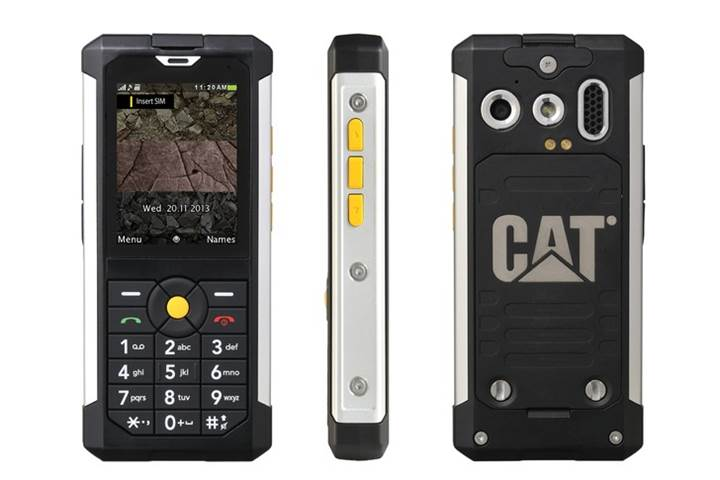 Cat B100 Rugged Smartphone