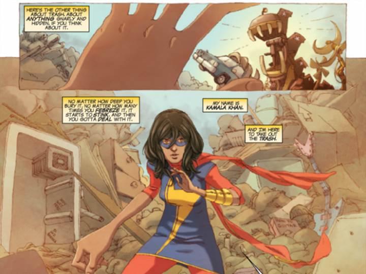 Ms Marvel Kamala Khan First Look Xcitefun Net