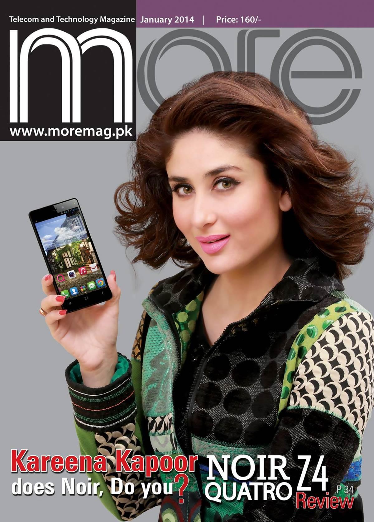 More Magazine November 2014 Issue: Kareena Kapoor More Magazine Cover