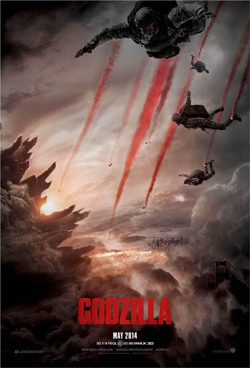 Godzilla 2014 Movie Posters And Trailer Xcitefun Net