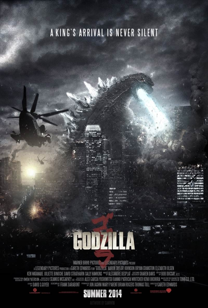 Godzilla 2014 Movie Posters and Trailer - XciteFun.net