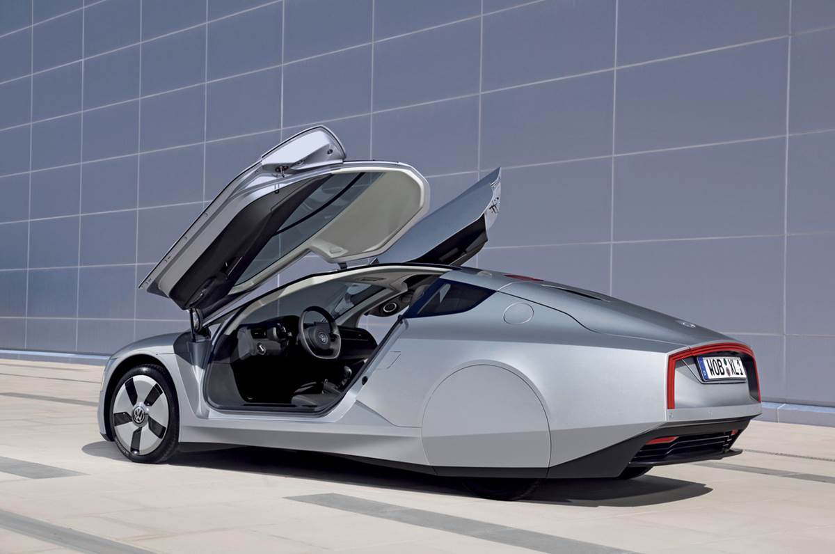 Volkswagen XL1 1Litre Car Launched In Europe