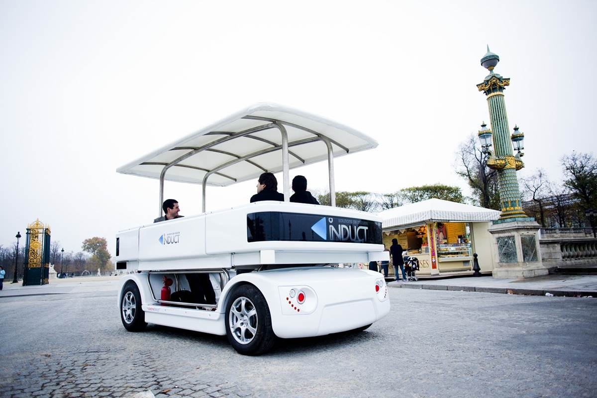 Worlds First Self Driving Car  Induct Navia