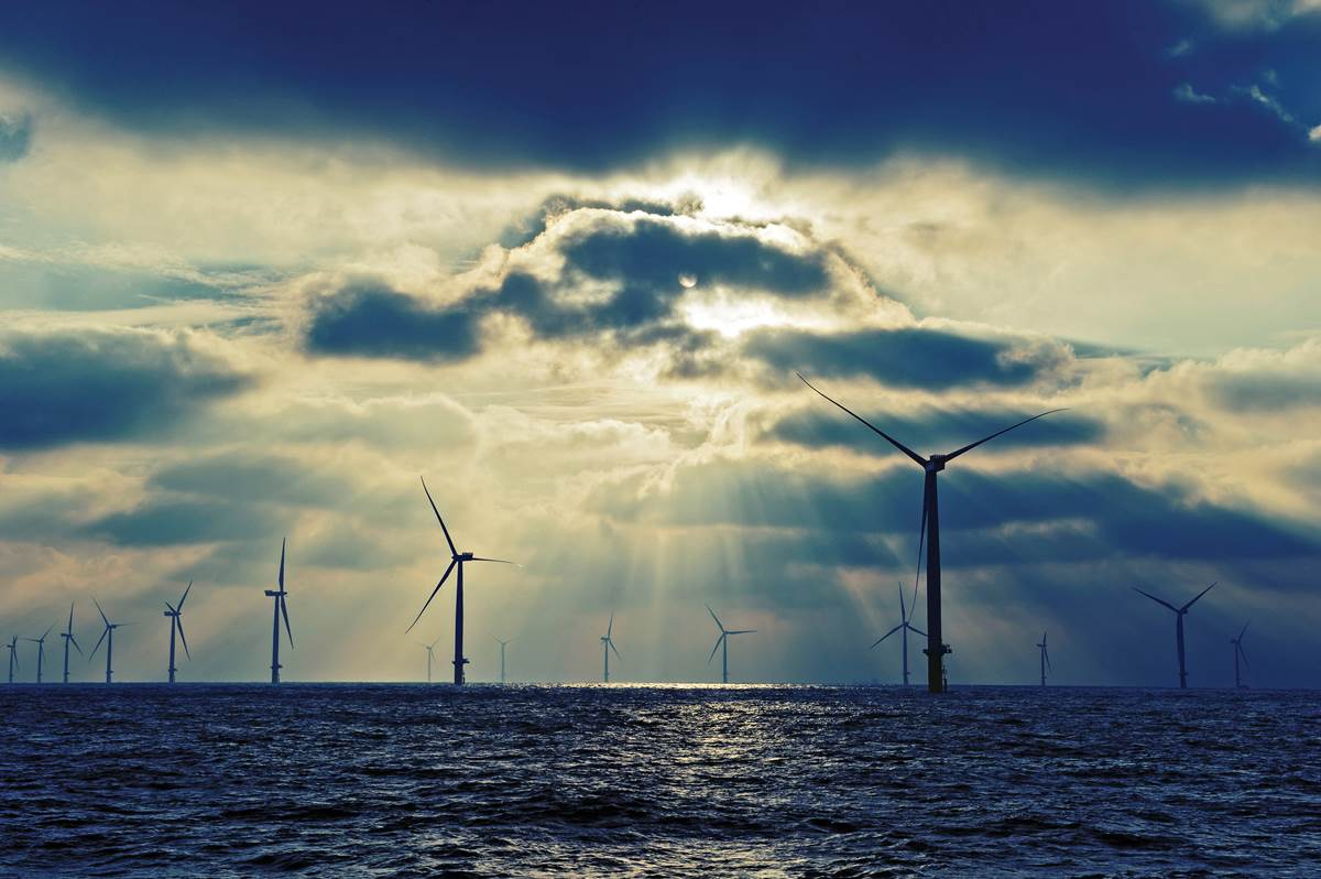 world biggest offshore wind farm - london array