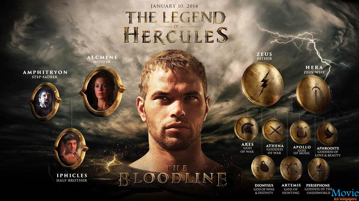 2014 Movie Posters: The Legend Of Hercules 2014