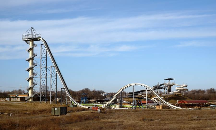 Worlds Tallest Water Slide