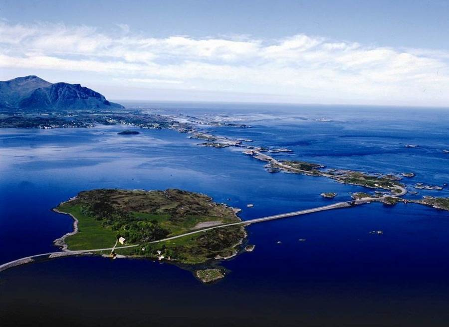 The Atlantic Road Norway  Tourist Route