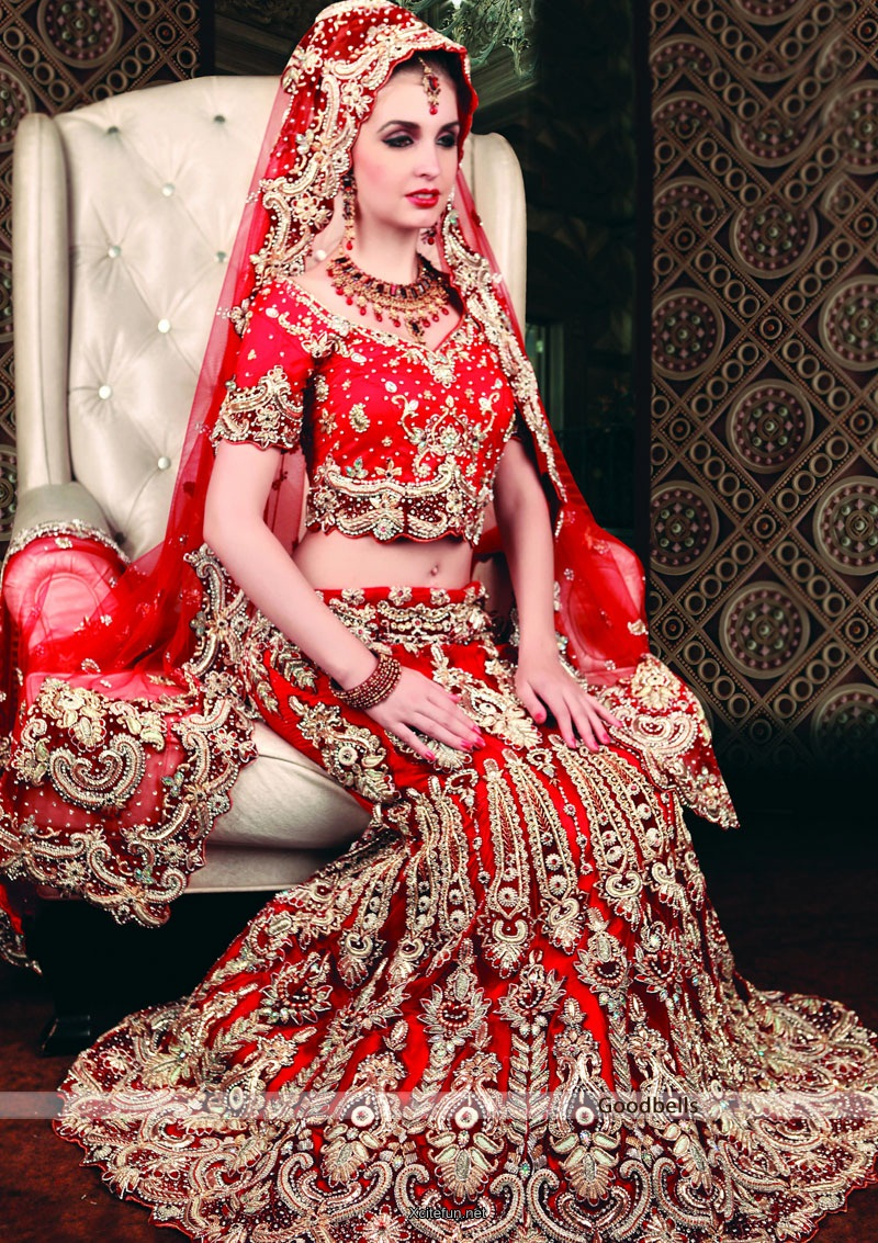 Bridal Lehnga Choli For Wedding 2014 Collection Xcitefun Net