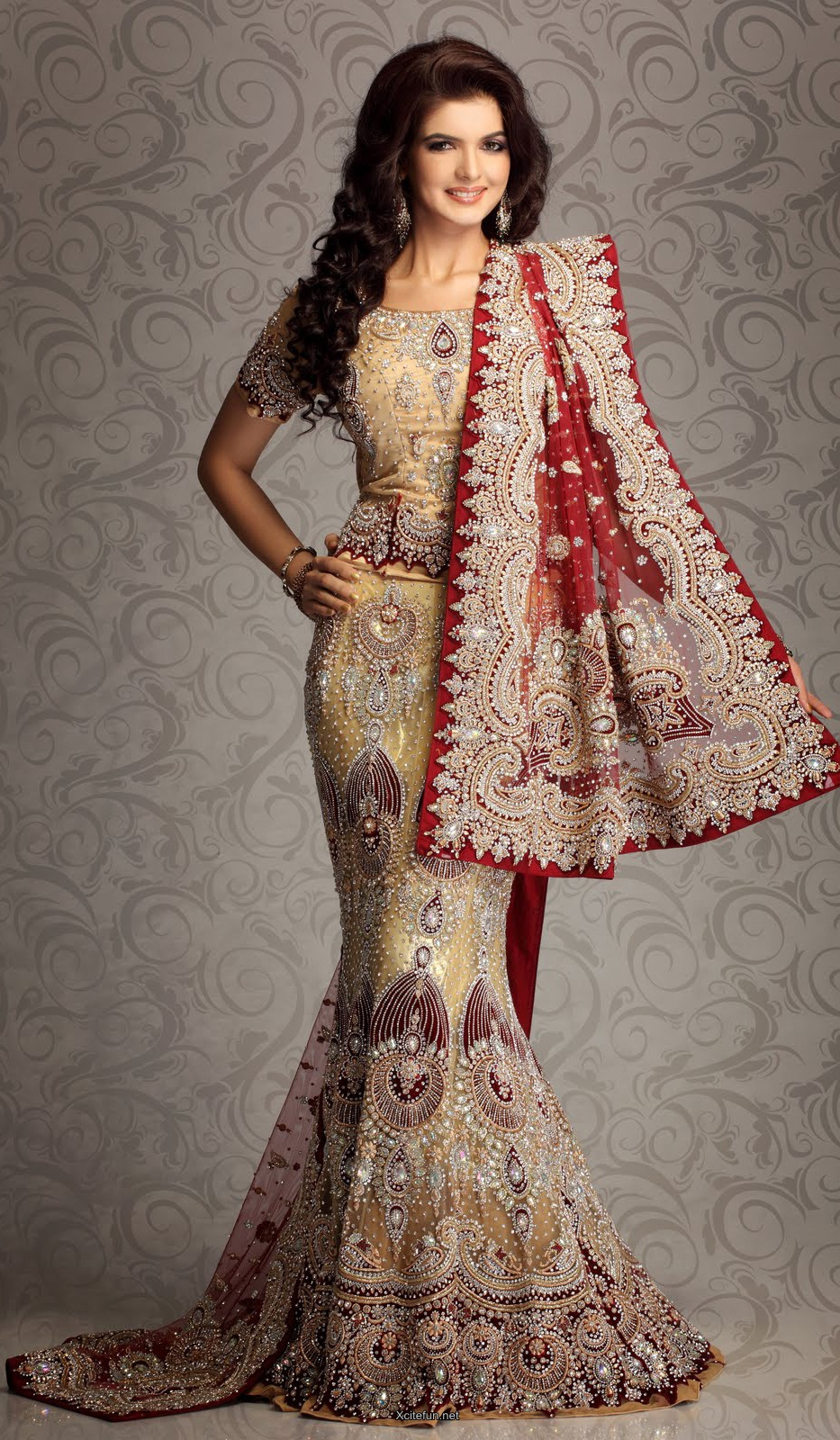 Bridal Lehnga Choli For Wedding 2014 Collection Xcitefun Net