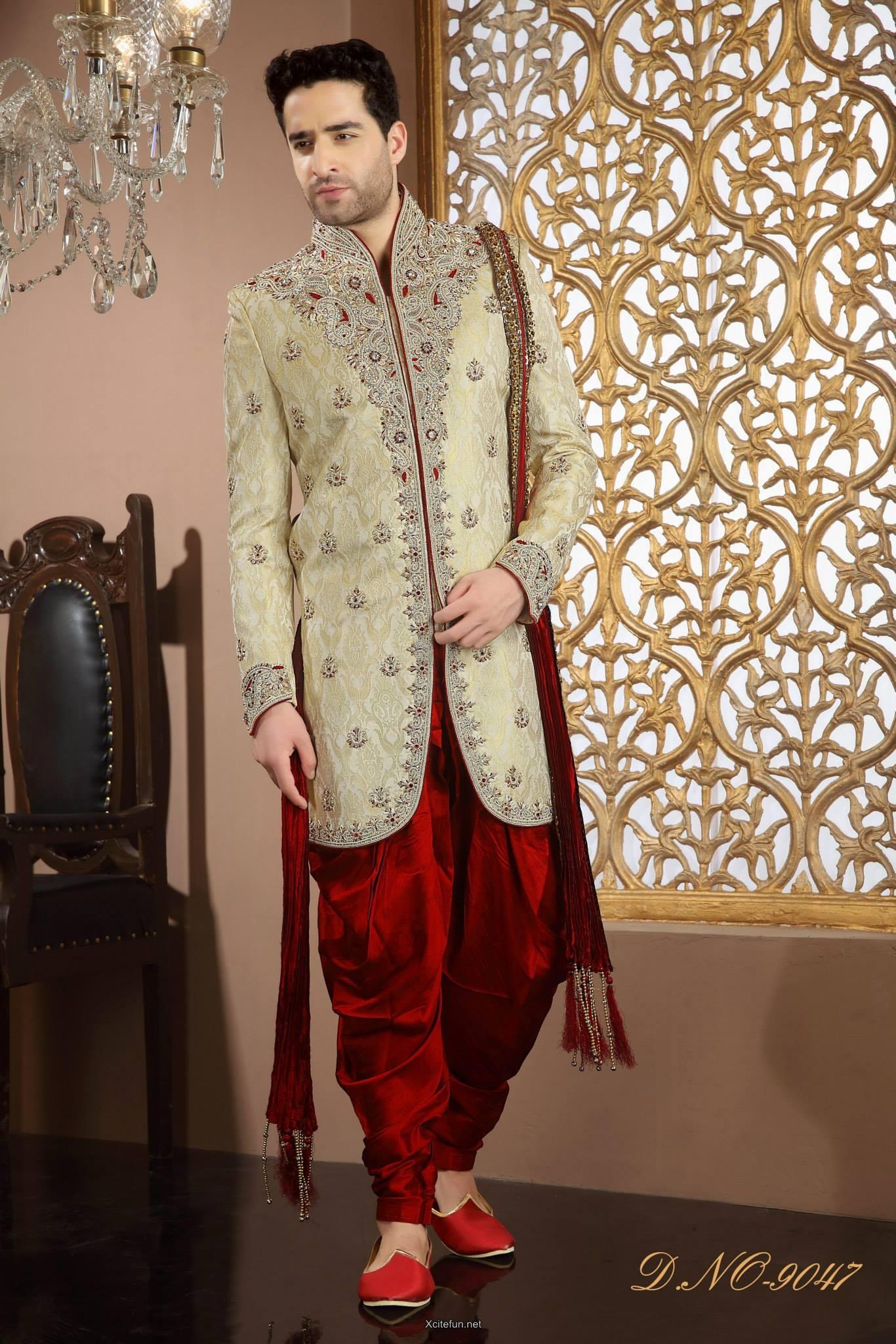 Groom Wedding Day Sherwani Collection