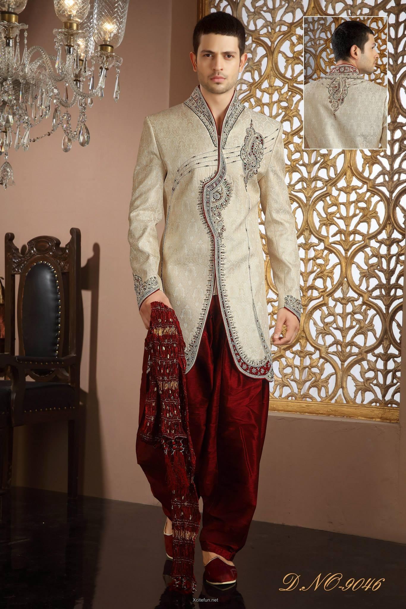 Groom Wedding Day Sherwani Collection Xcitefun Net