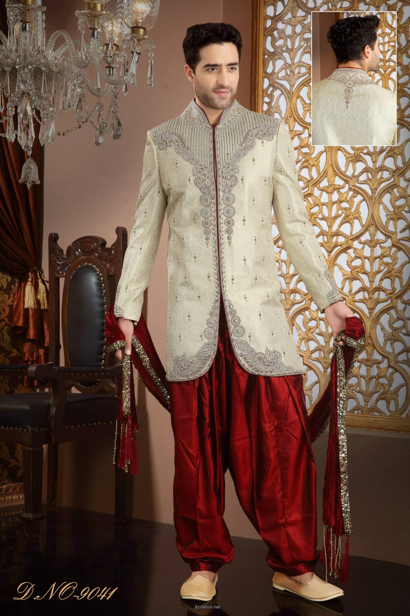 Groom Wedding Day Sherwani Collection Xcitefun Net