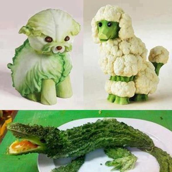 Vegetable creative and funny art xcitefun