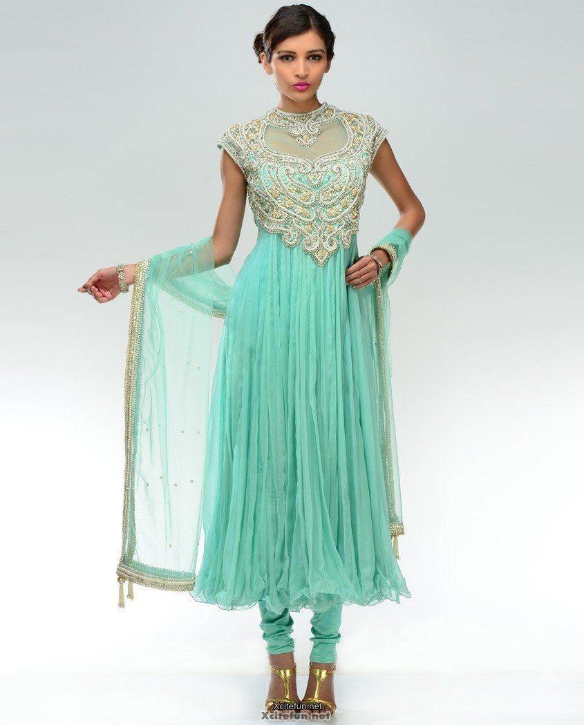 Lady Wear Formal Frock With Churidar Pajama Xcitefun Net